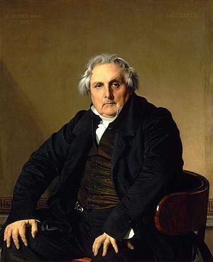 12. Louis-François Bertin, conocido como el Señor Bertin