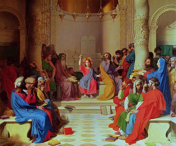 13. Jesús entre los doctores
