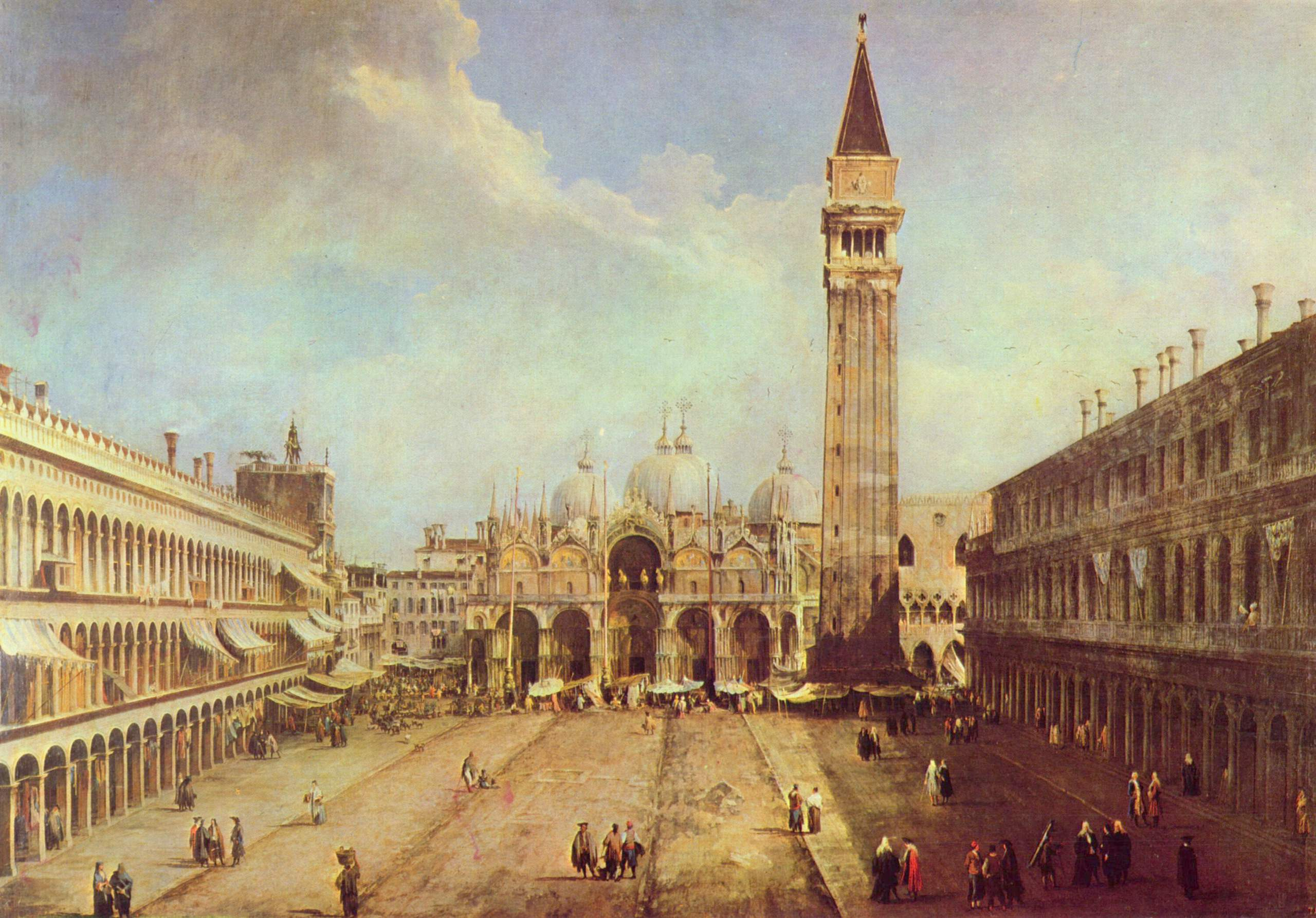 3. Piazza San Marco (1723-4)