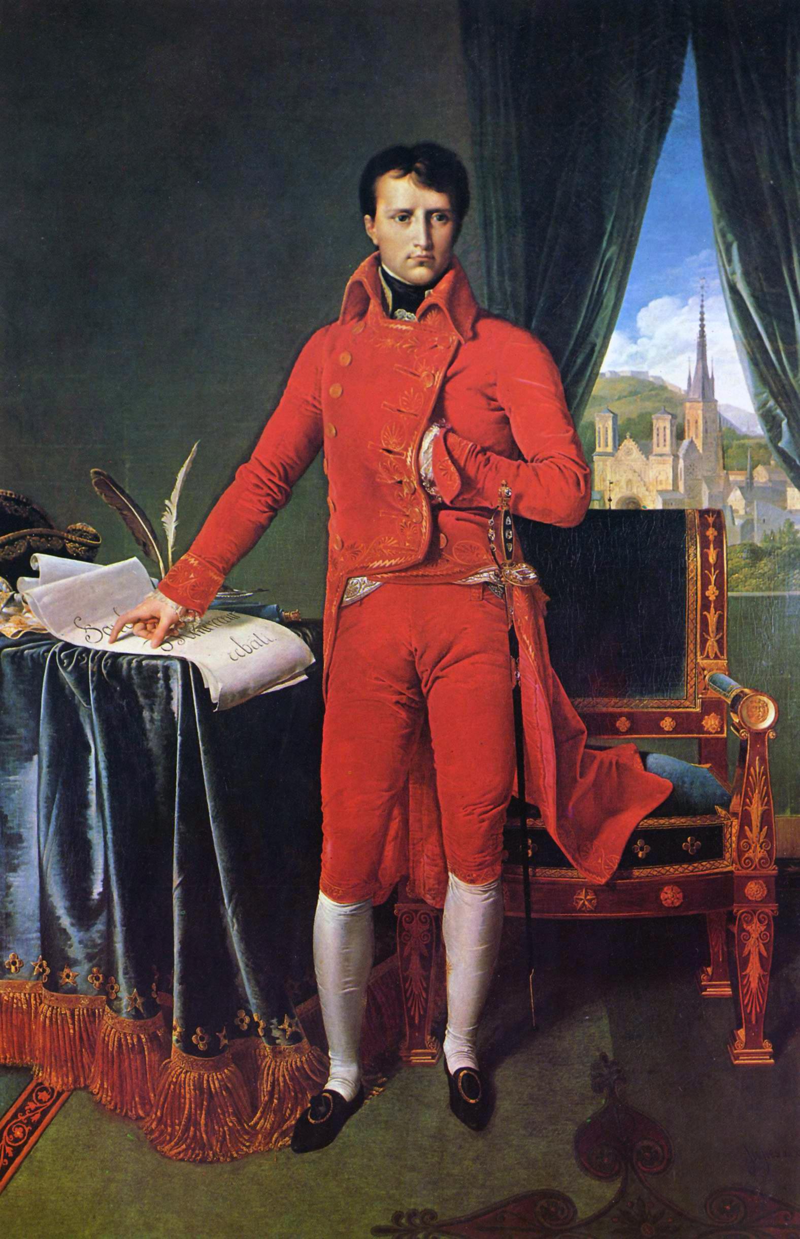 5. Napoleón Bonaparte, primer cónsul