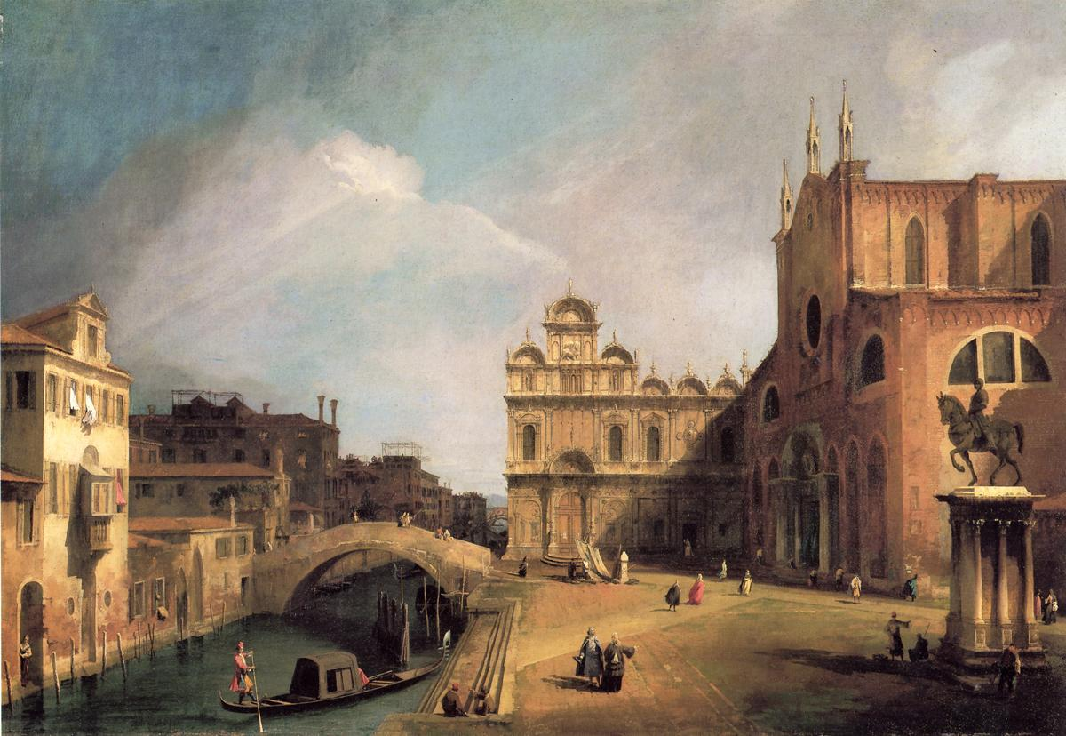 5. SS. Giovanni e Paulo and the Scuola de San Marco (1725)