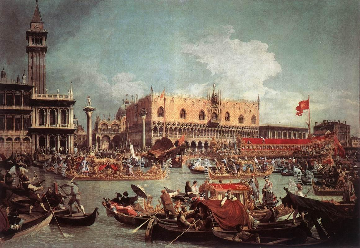 6. The Bucintoro Returning To The Molo On Ascension Day (1736)