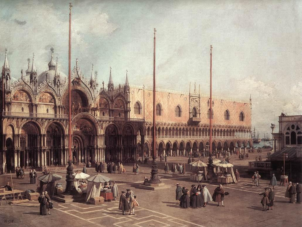 7. Piazza San Marco Looking South East (1735-40)