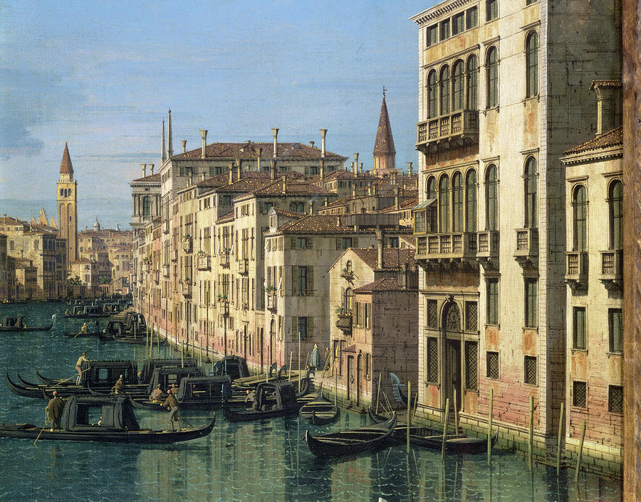 8. Entrance to the Grand Canal, Looking West (1738-42)