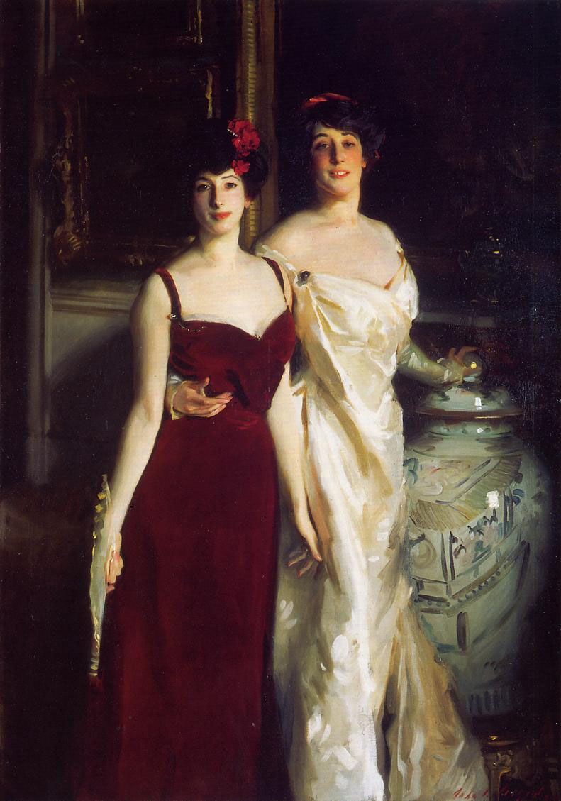 10. Ena y Betty, hijas de Asher y la señora Wertheimer, 1901