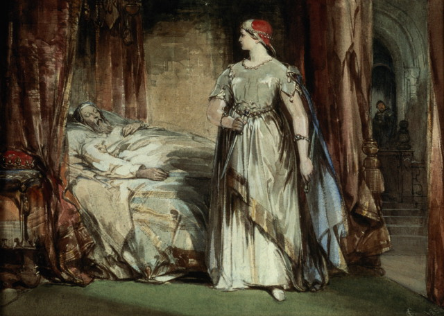 10. Lady Macbeth, George Cattermole, h.1830