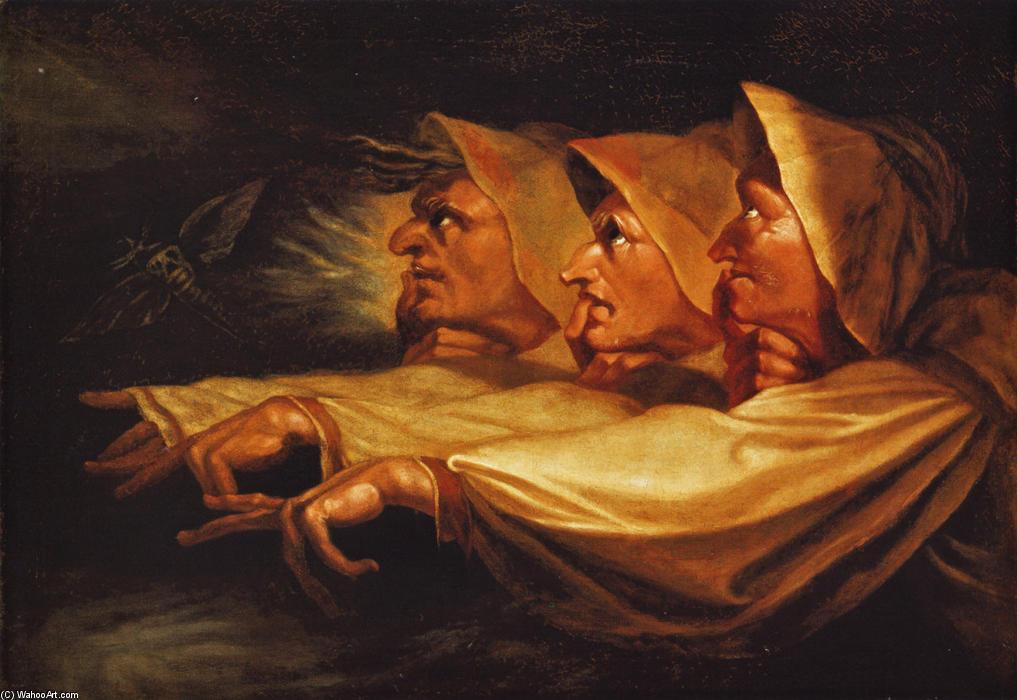 2. Las tres brujas, Johann Heinrich Füssli, 1783