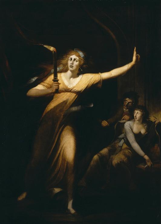 4. Lady Macbeth sonámbula, Henry Fuseli, 1784