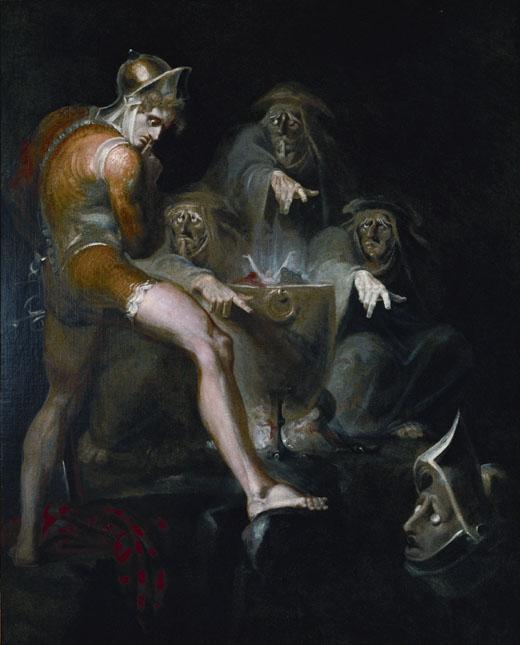 5. Macbeth consulta la visión de la arma, Fussli, 1793