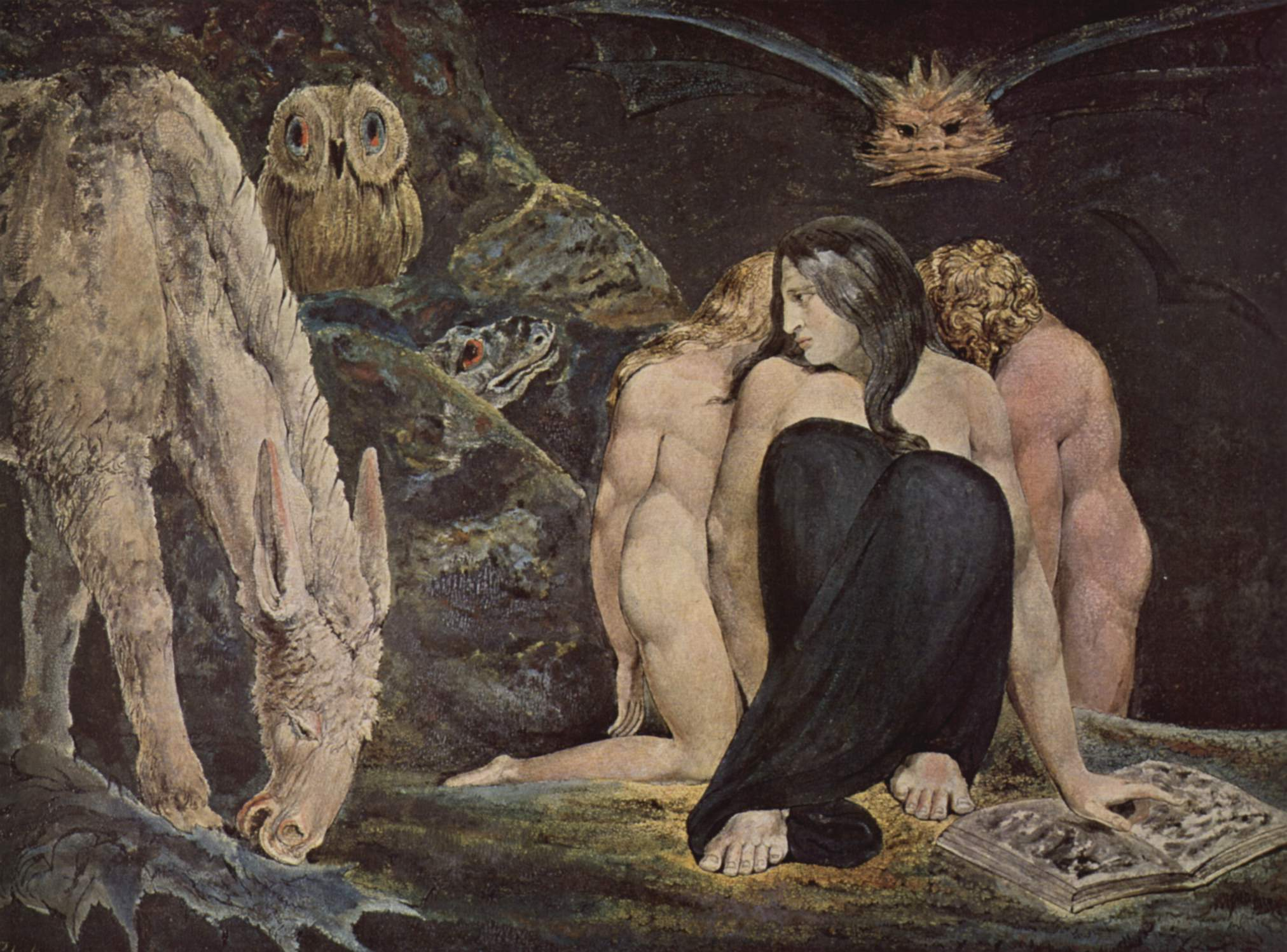 6. Hécate, William Blake, 1795