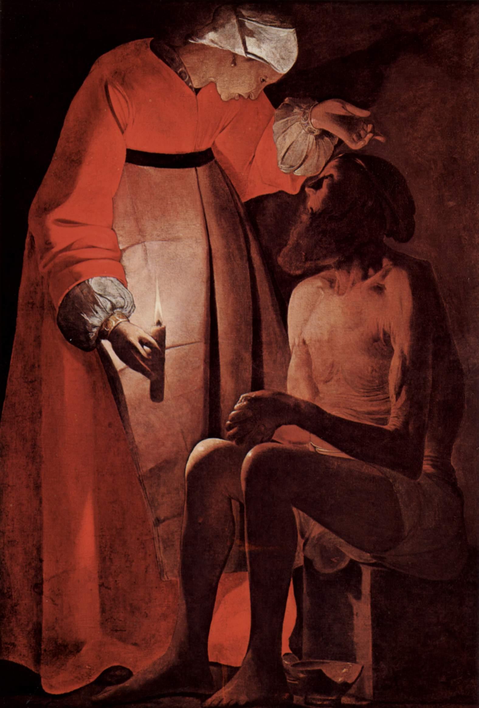 7. Job y su mujer, De La Tour