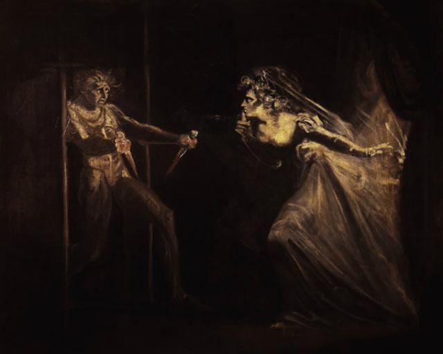 8. Lady Macbeth con los puñales, Fussli, 1812