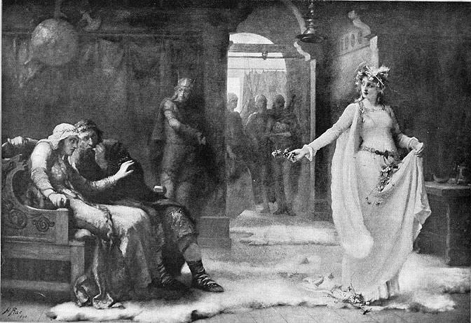 11. Henrietta Rae, Ofelia, 1890