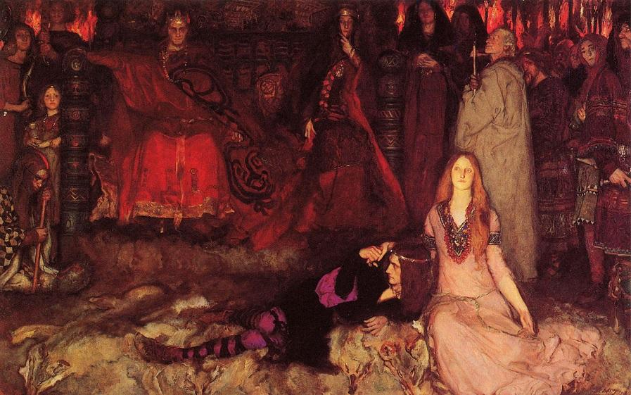 14. Edwin Austin Abbey, Hamlet, 1897