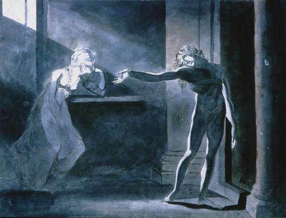 2. Fuseli, Hamlet y Ofelia, 1770-8