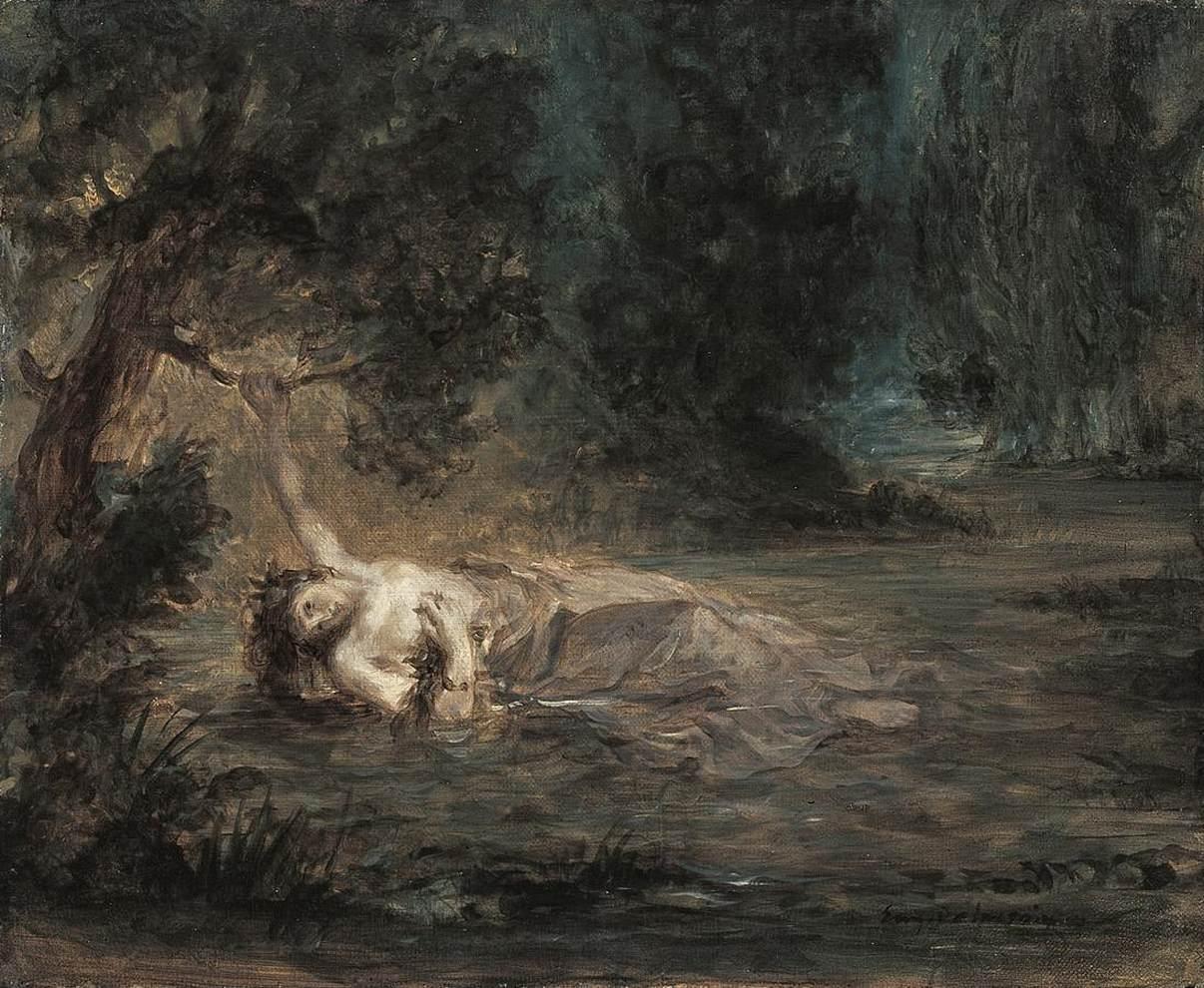 5. Delacroix, Ofelia, 1838
