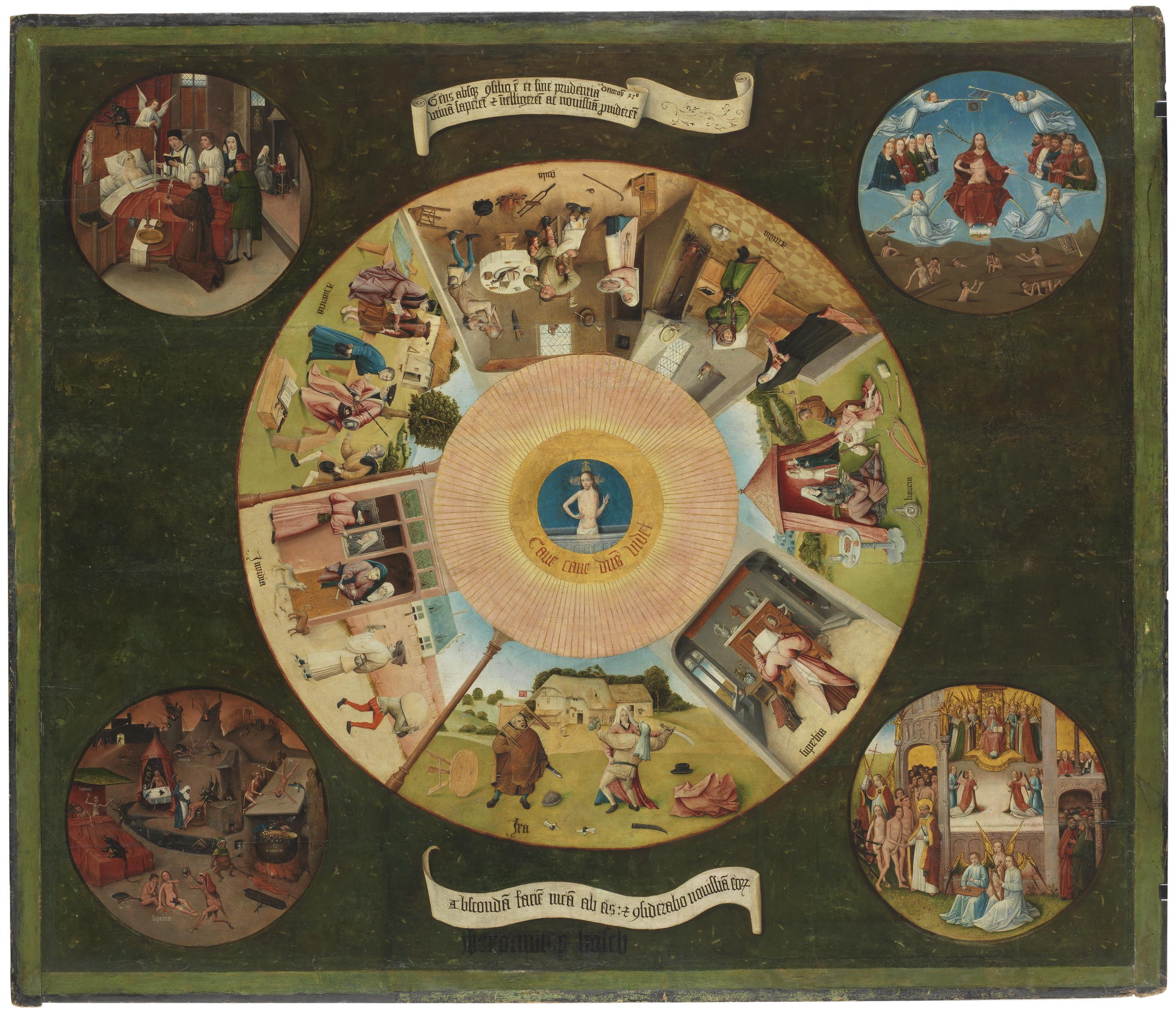 15. Mesa de los pecados capitales, BOSCO