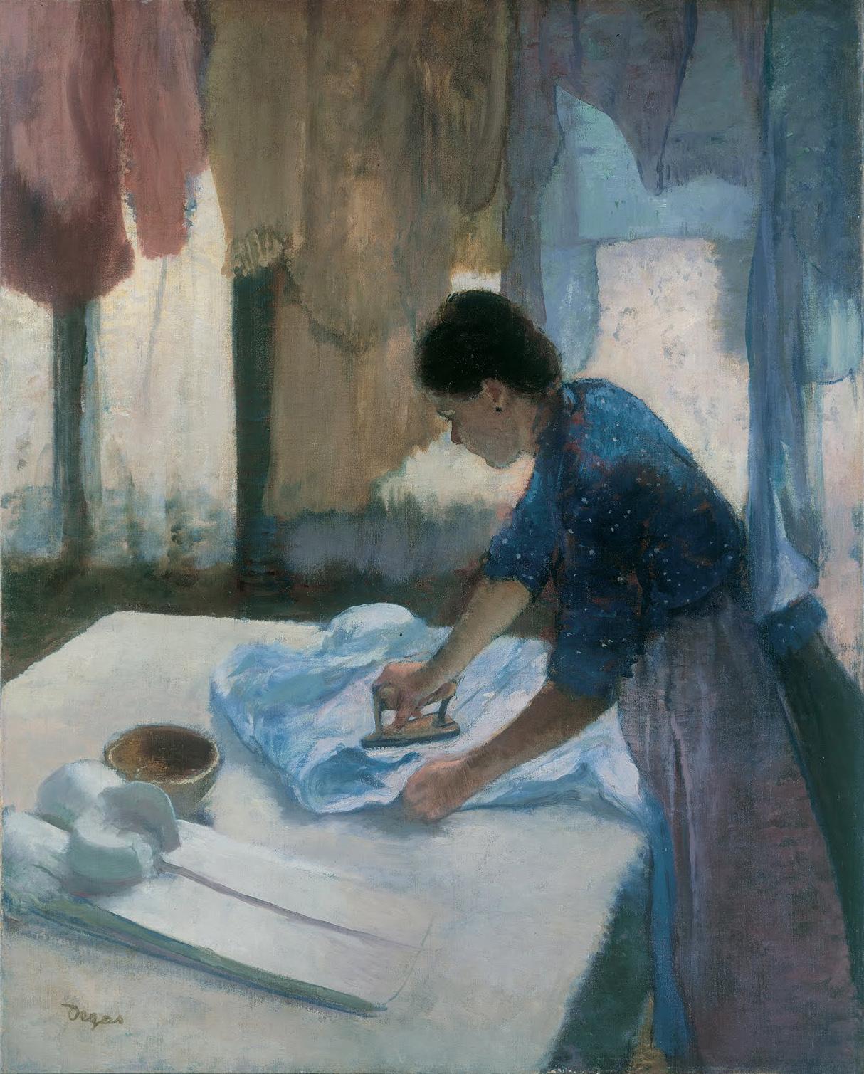 10. Mujer planchando