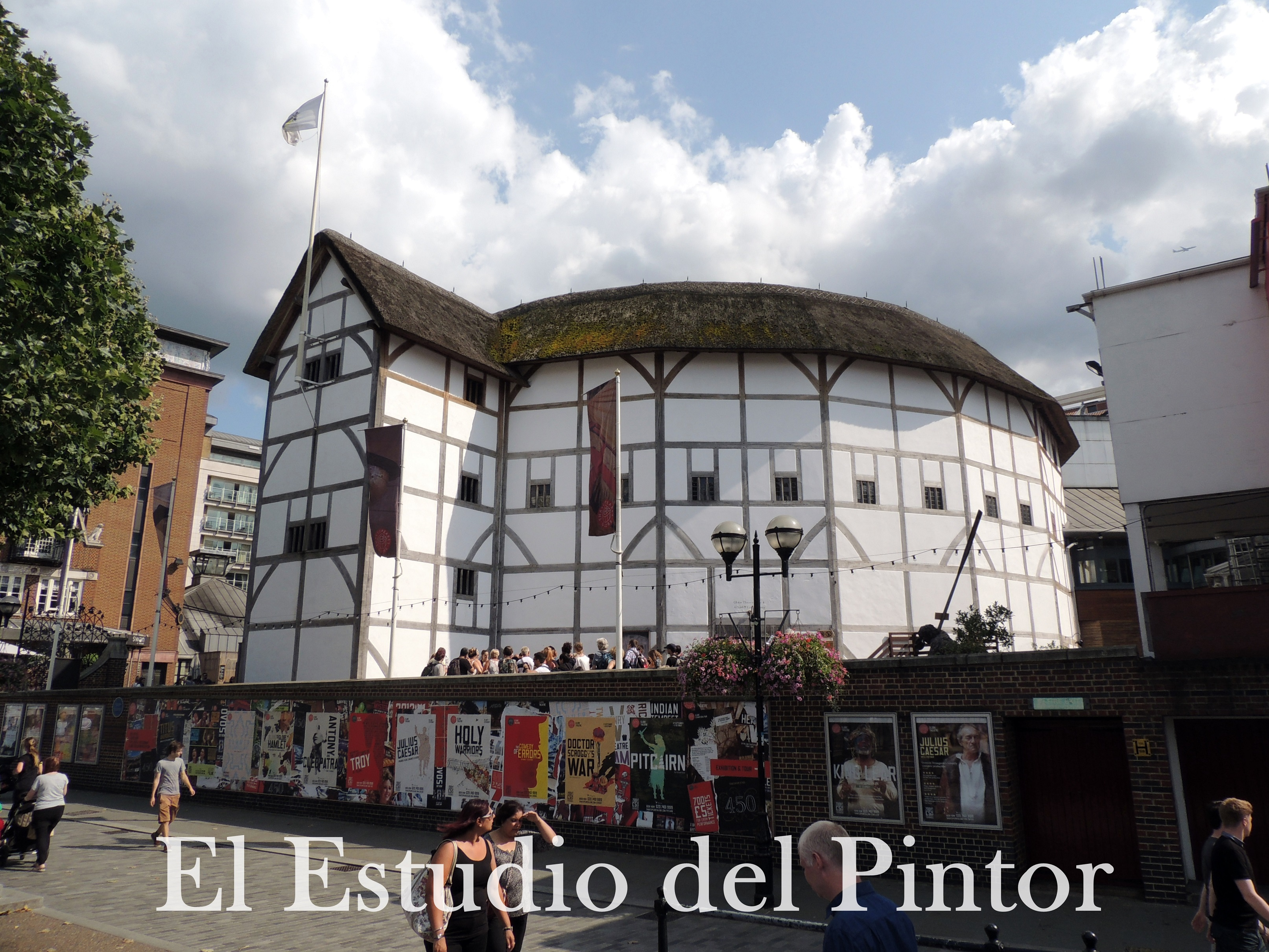 14. Shakespeare Globe Theatre