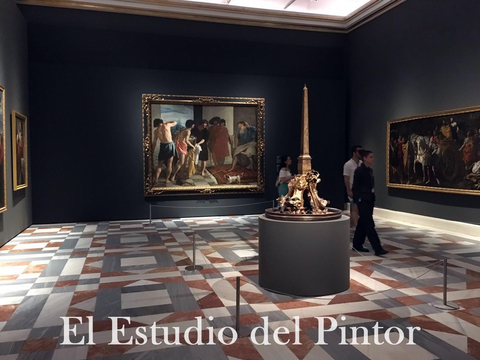 5. Boceto Fuente Cuatro Ríos Bernini