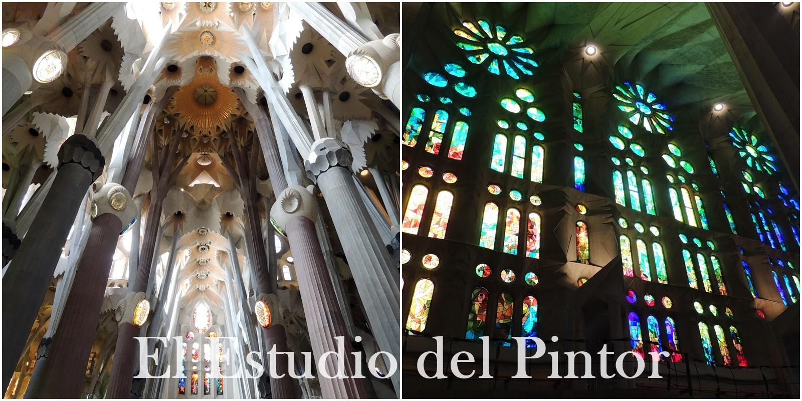 2. Sagrada Familia Interior, Gaudí