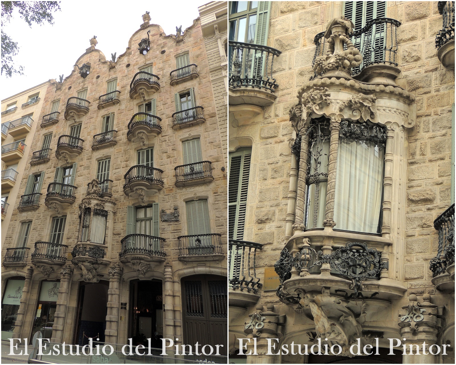 4. Casa Calvet, Gaudí
