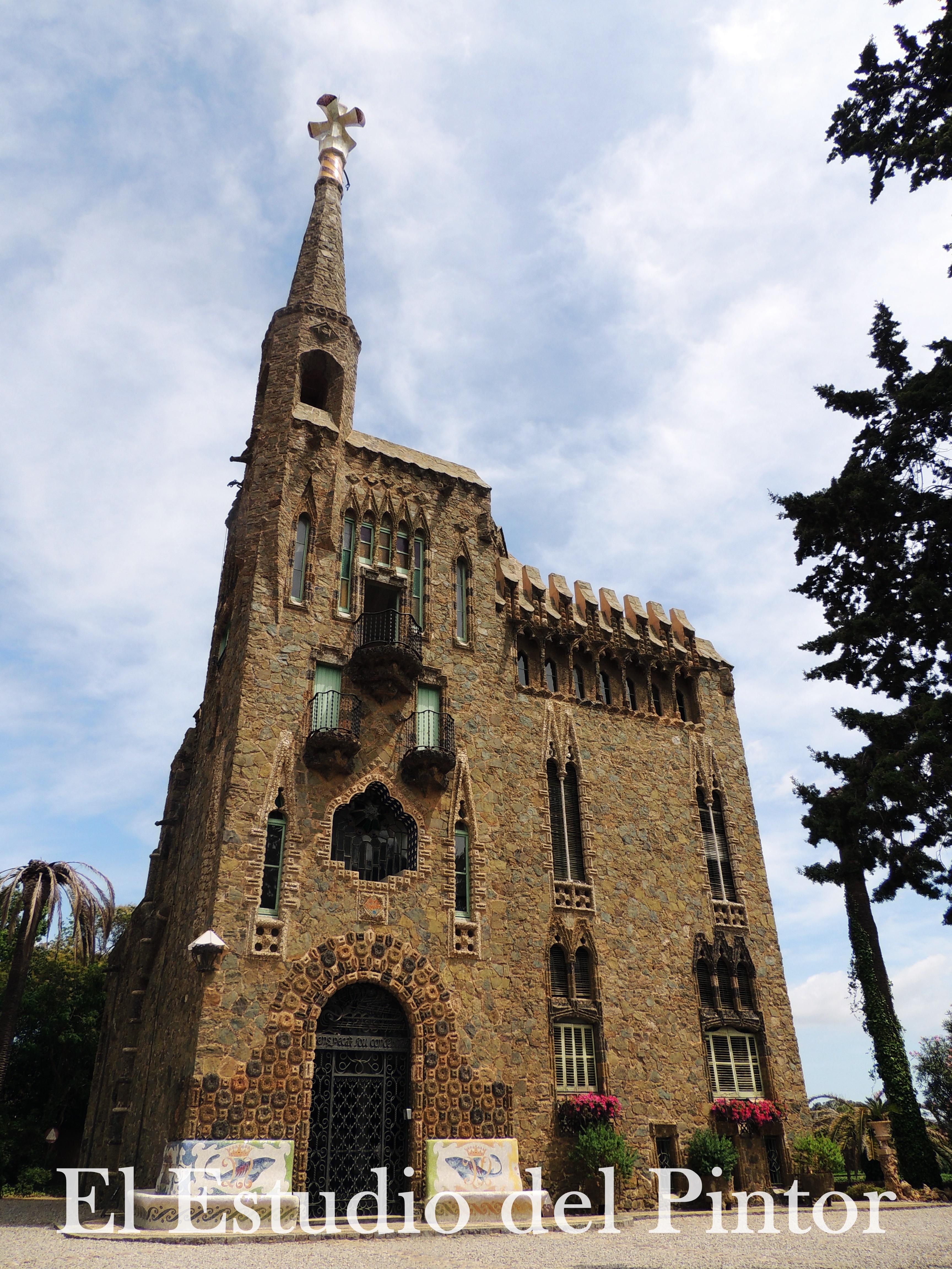 7. Torre Bellesguard, Gaudí