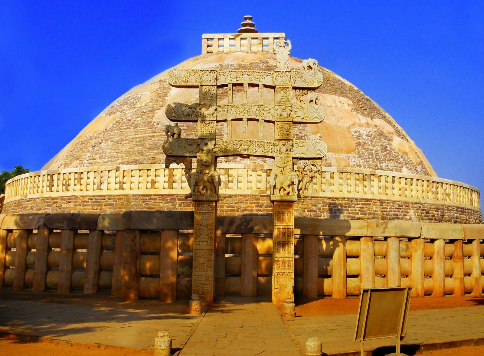 1. Stupa de Sanchi