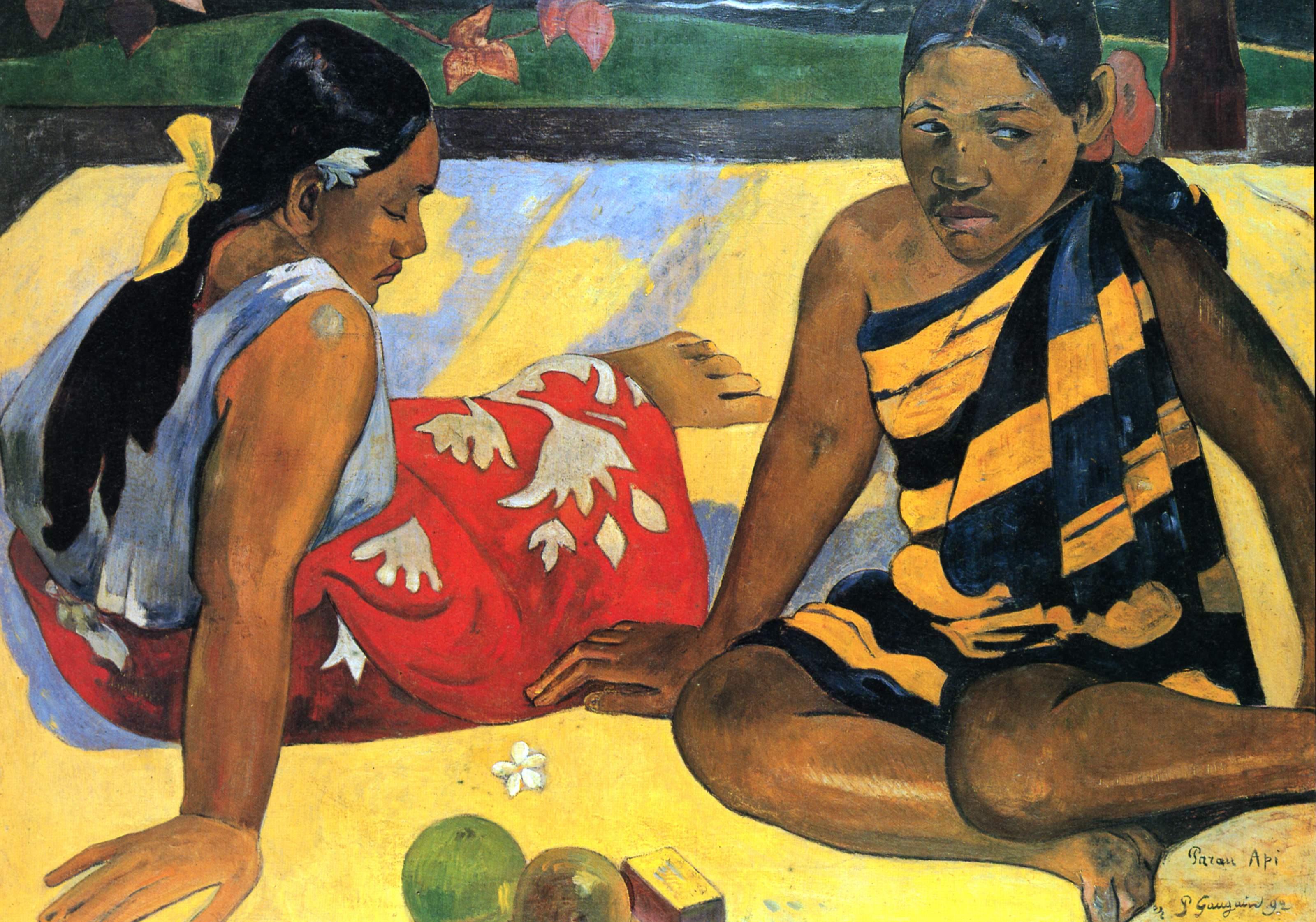 3. Mujeres de Tahití