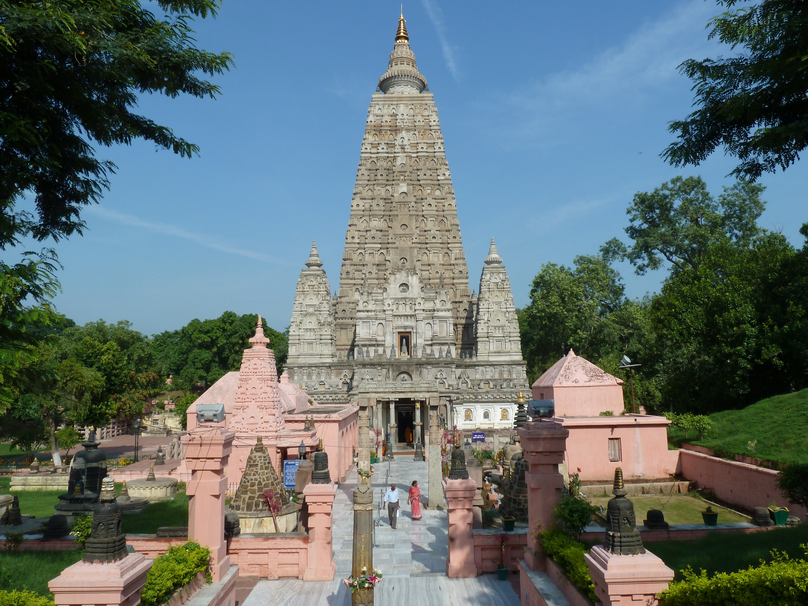 3. Templo Mahabodhi