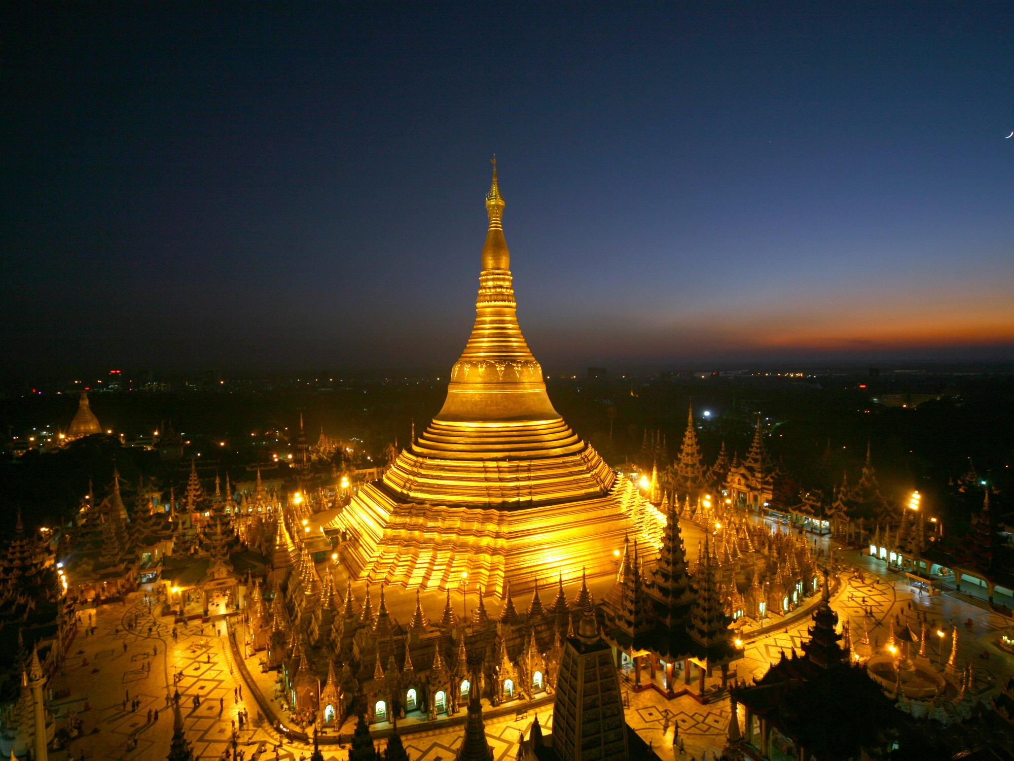 5. Pagoda de Shwedagon