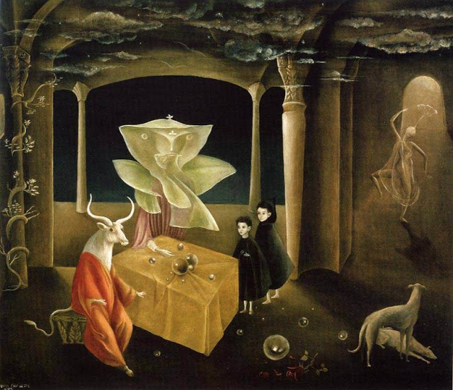 4. Leonora Carrington, La hermana del Minotauro, 1953.