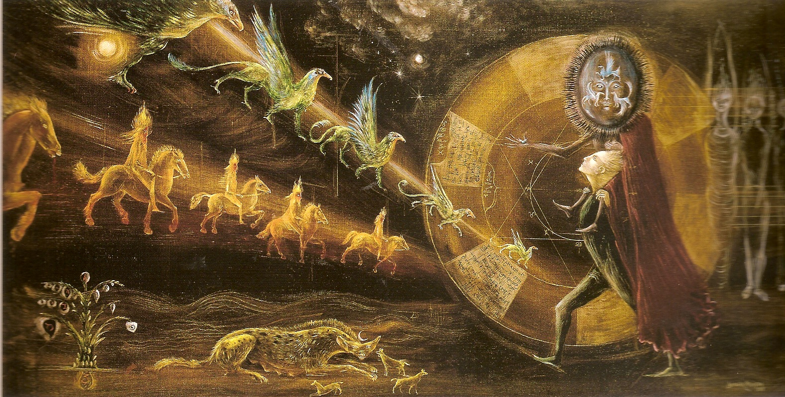 6. Leonora Carrington, Le gran adieu