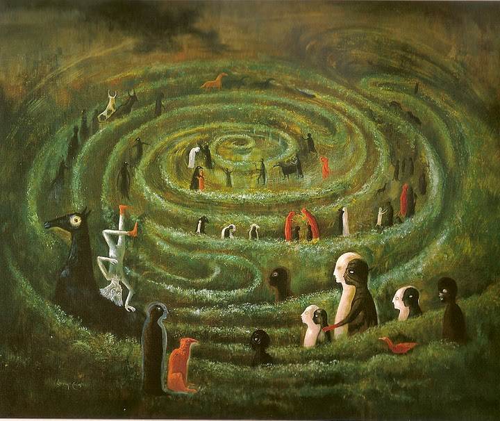 8. Leonora Carrington, Laberinto