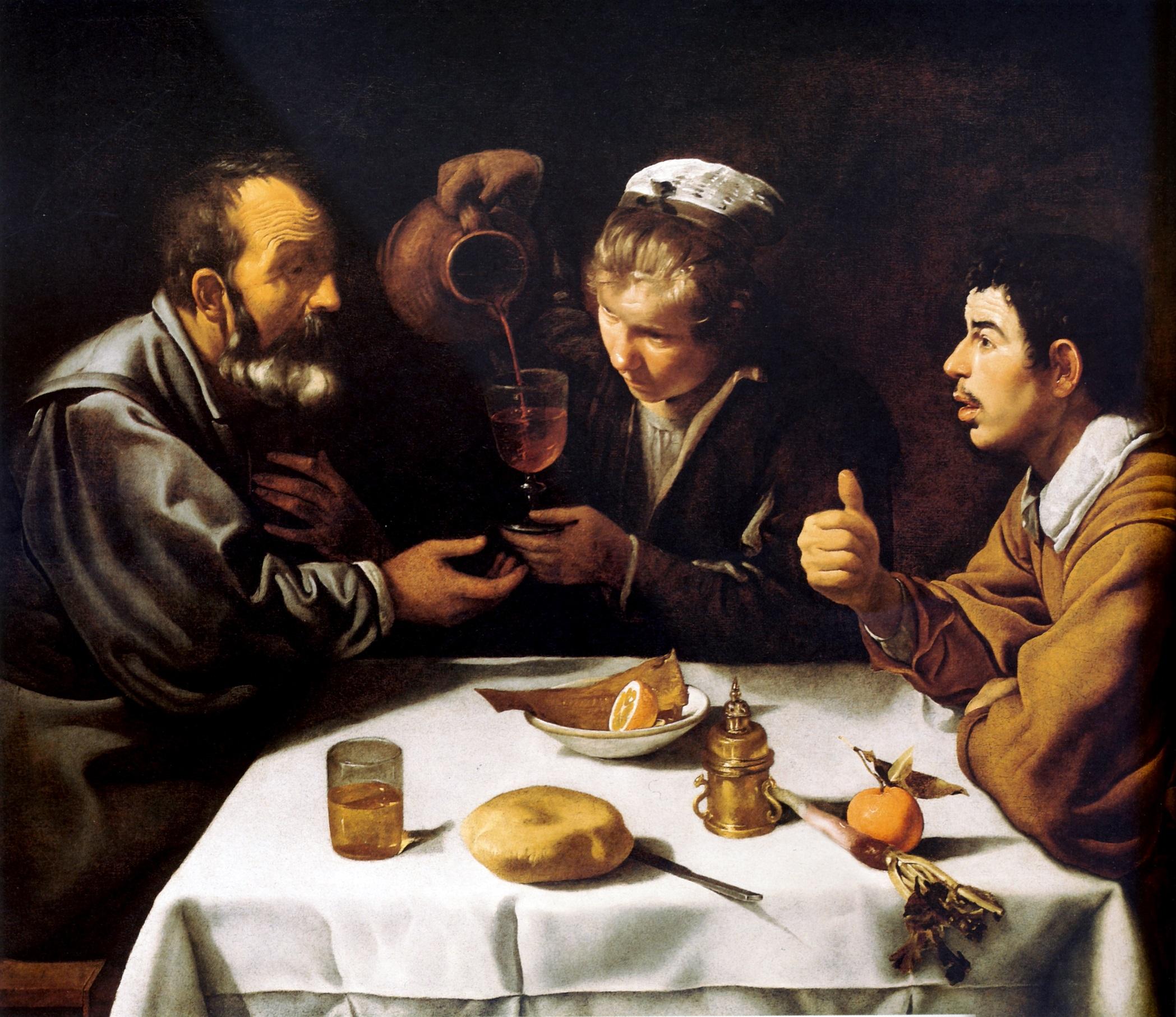 7 El_almuerzo,_by_Diego_Velázquez