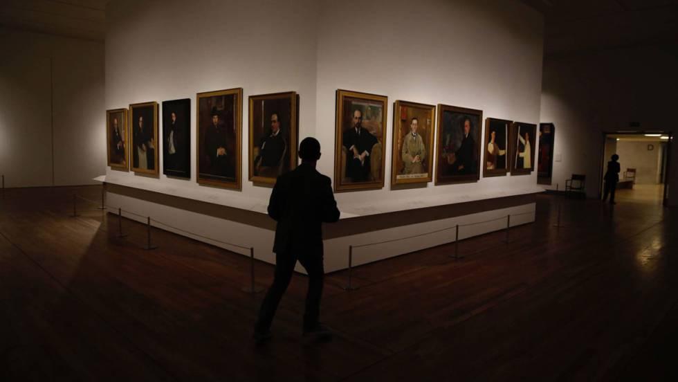 15. Galería de retratos