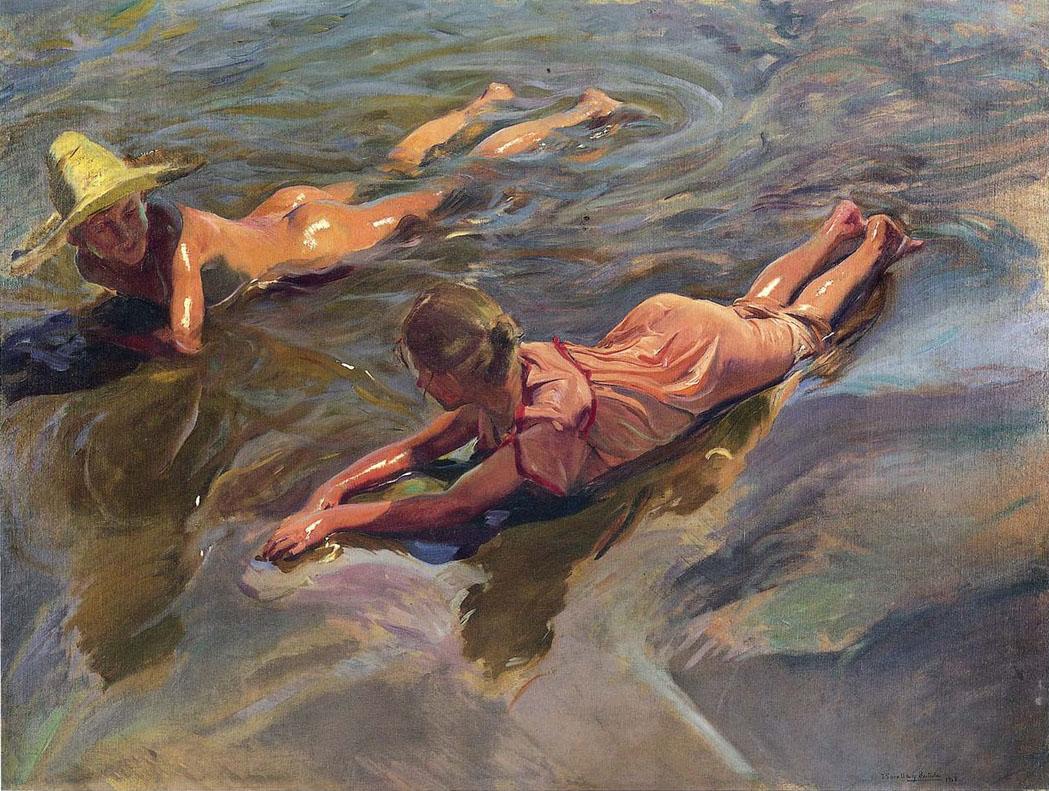 17. Joaquín Sorolla. Idilio en el mar