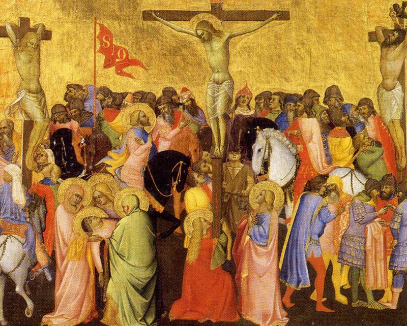 11. Agnolo Gaddi, Crucifixión