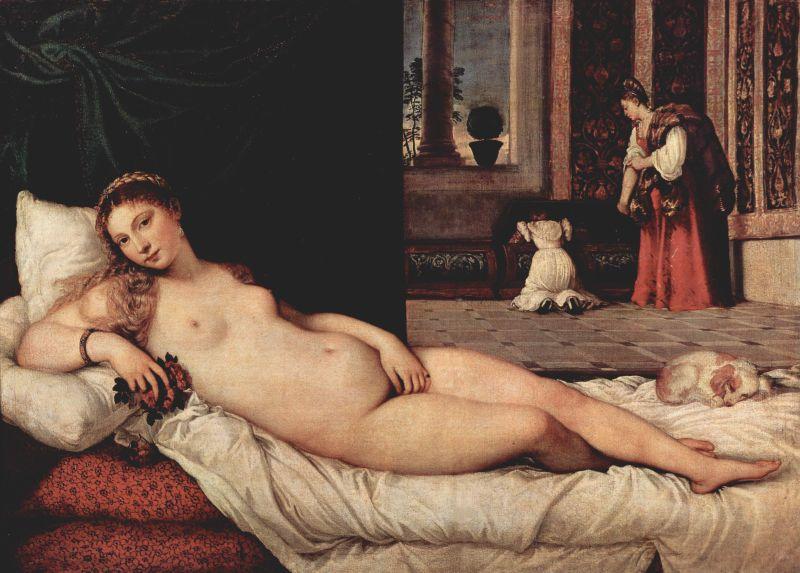 26. Tiziano, Venus de Urbino