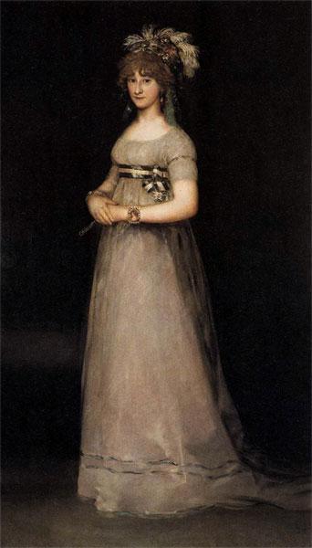 29. Goya, La condesa de Chinchón