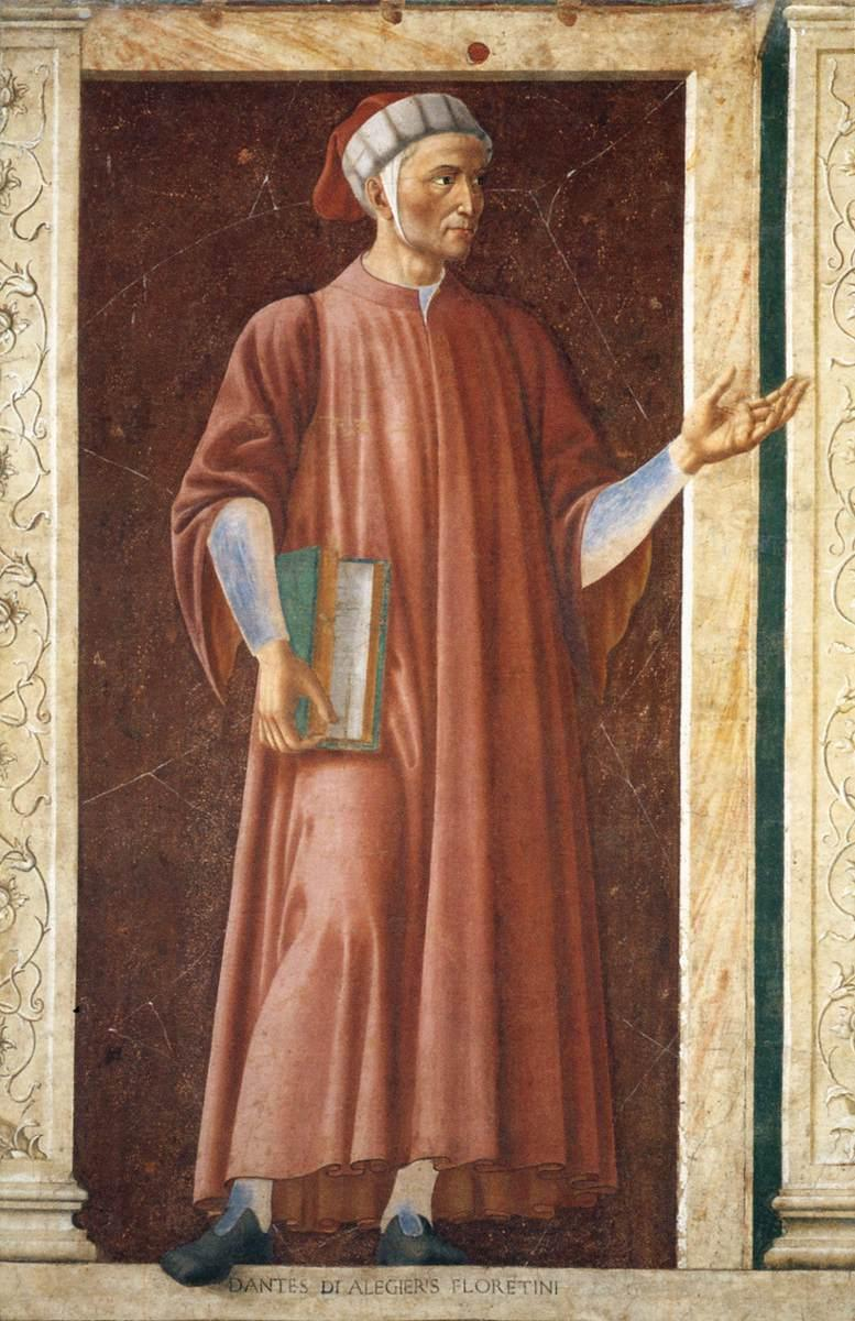 3. Andrea del Castagno, Dante