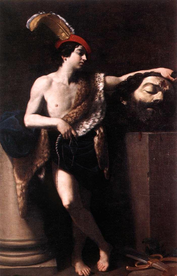 32. Guido Reni, David con la cabeza de Goliat