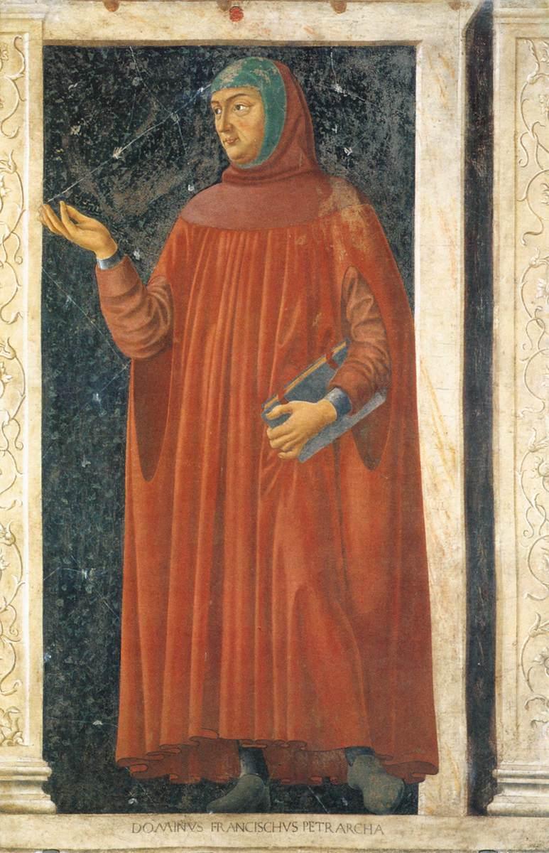 4. Andrea del Castagno, Francesco Petrarca