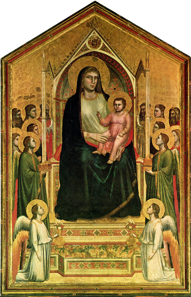 7. Giotto, Madonna d'Ognissanti