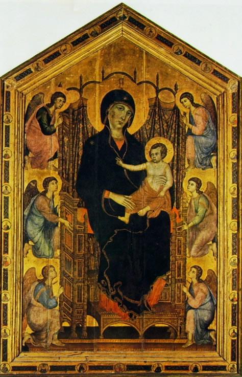 9. Duccio di Boninsegna, Madonna Rucellai