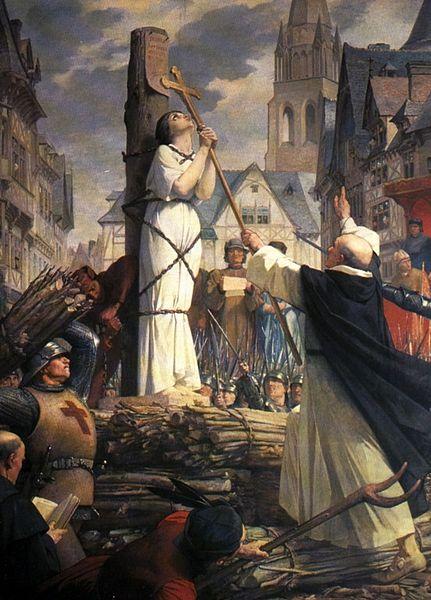 6. Muerte de Juana de Arco, Jules Eugène Lenepveu